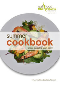 Real Food Real Results - Summer Cookbook