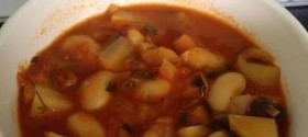 Butterbean, Vegetable & Tomato Soup